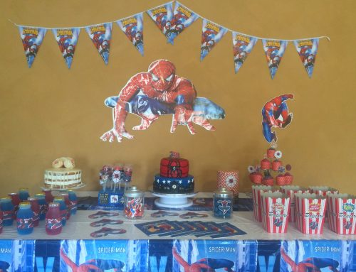 Spiderman Themed Birthday Party
